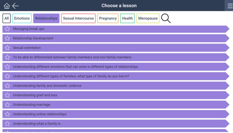 Advanced concepts sample lesson plans