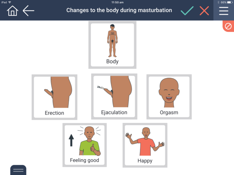 changes in boys or men during masturbation
