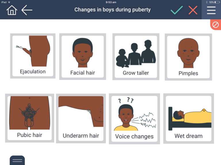 changes in boys during puberty