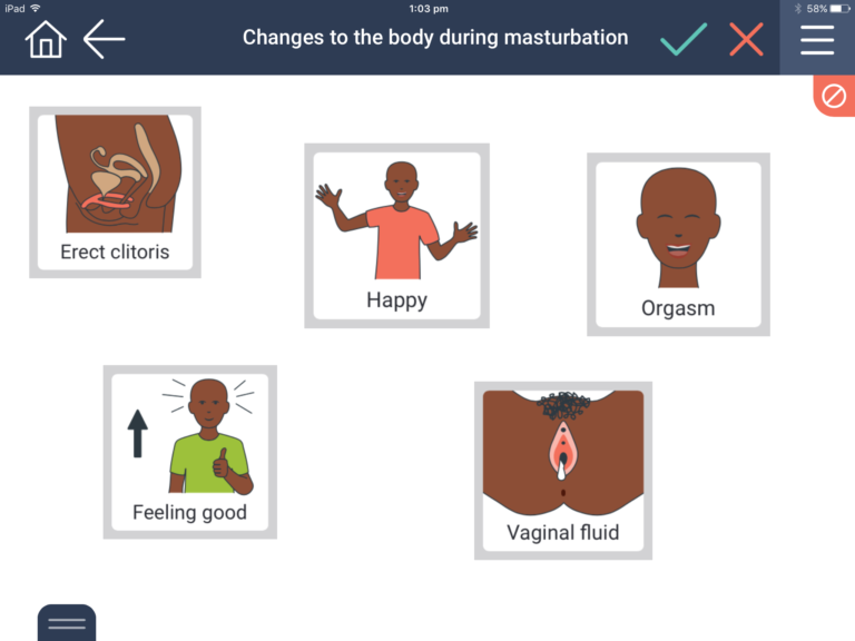 changes in female body during masturbation