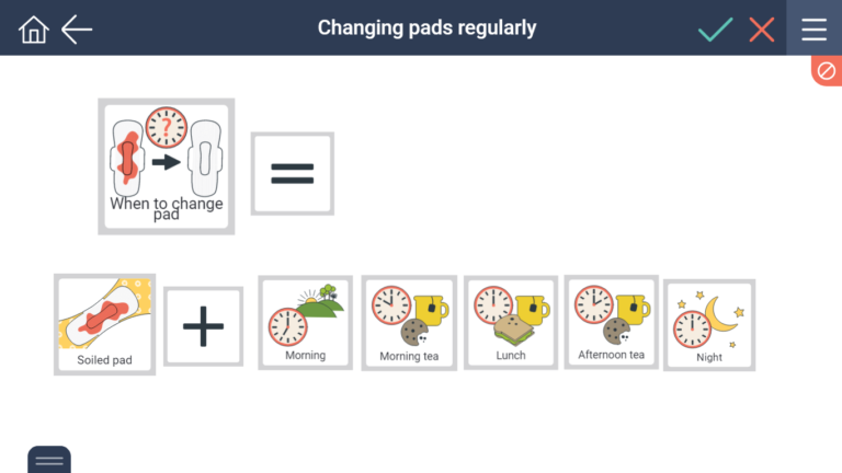 when to change a soiled pad