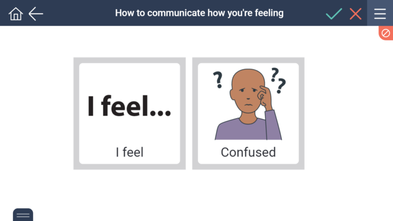 Using I feel statements