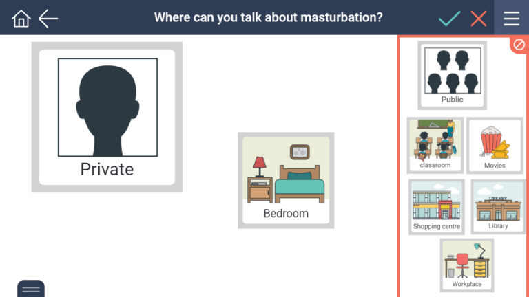 where to talk about masturbation