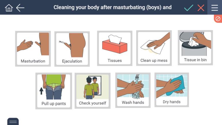 Straight man masturbating till orgasm